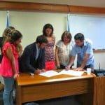 Convenio para trabajar la violencia de género en San Isidro