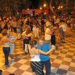 Milonga en la plaza de Martínez