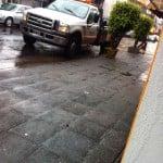 La Dirección de Tránsito de San Isidro mal estacionada