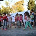 Organizaciones sociales festejaron junto a los niños de La Cava