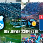 Tigre juega desde las 21.00 por la Copa Argentina