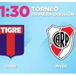 Desde las 21.30 Tigre buscará los tres puntos frente a River