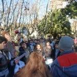 Los estudiantes de San Fernando marcharon en defensa de la Escuela Pública