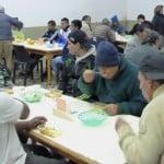 Cenas de invierno en Cáritas Aránzazu