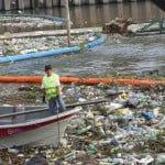 Retiraron 150 toneladas de residuos del Canal Aliviador en Tigre