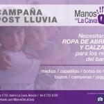 Campaña por las familias afectadas por las lluvias en San Isidro