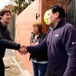 Juan Andreotti y Aparicio de campaña en Virreyes