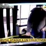 Cobarde ataque a colectivero en Tigre