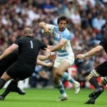 Los Pumas cayeron ante All Blacks en el debut del Mundial de Rugby