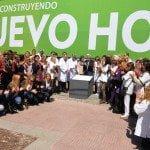 Se colocó la piedra fundamental del Hospital Municipal de San Fernando