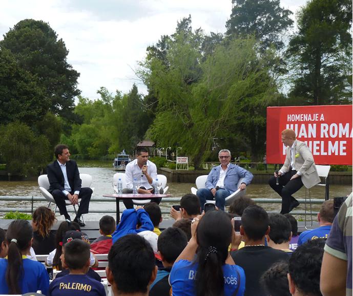 Juan rom n riquelme fue declarado ciudadano ilustre de for Piletas en zona norte para pasar el dia 2015