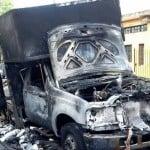 Le estacionaron un camión frente a su casa en Olivos y lo prendió fuego