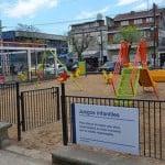 San Isidro: Remodelan la Plaza Belgrano de Villa Adelina
