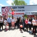 El acto voluntario de donar sangre crece en Tigre