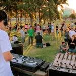Festival Electrónico en la costa de Vicente López