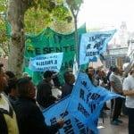Trabajadores municipales de San Fernando se manifestaron por mejores condiciones laborales