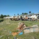 Vecinos de Beccar reclaman el levantamiento de carcasas de automóviles