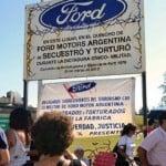 Prohiben la salida del país a tres ex directivos de Ford por delitos de lesa humanidad
