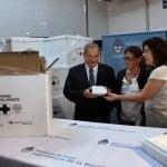 El gobierno comenzó la distribución gratuita de la vacuna antigripal