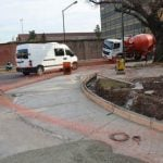 Obras para mayor seguridad vial en Boulogne