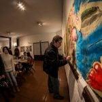 Con variadas propuestas, las puertas de los artistas del Alto de San Isidro se cerraron el fin de semana