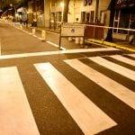 Renovación de pintura vial en las principales avenidas de San Fernando