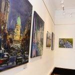 """Muestra de arte """"Homenaje a la Patria"""", en San Fernando"""