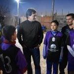 """""""San Isidro tiene la oportunidad de sacar a los chicos de la calle"""", afirmó Galmarini"""