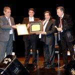 Cacho Castaña fue reconocido como vecino ilustre de Vicente López
