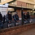 Los trabajadores de las Industrias RB de Martínez fueron desalojados por tercera vez