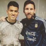 Messi en Tigre: Entre amigos, familiares y con el escudo de la Selección