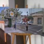 Muestra fotográfica para concientizar sobre seguridad vial en Vicente López