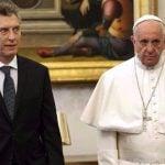 El Papa rechazó una donación de Macri