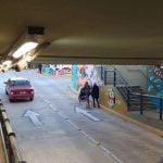 Piden paso para personas con movilidad reducida y doble mano en el túnel de Beccar