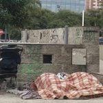 La Red Solidaria realiza una campaña por la gente que duerme en la calle