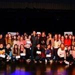 Juan Andreotti entregó becas a alumnos de los últimos años de escuelas secundarias