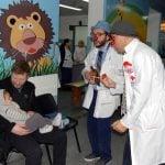Obras en el área de pediatría del Hospital Houssay