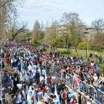 Tigre festejó el Bicentenario frente a una multitud