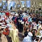 San Fernando celebró el Bicentenario de la patria junto a una multitud de vecinos
