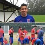 En medio de la dura pretemporada, Cachete Morales firmó y comenzó a entrenarse