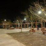 Obras de mejoramiento en la Plaza Belgrano en Villa Adelina