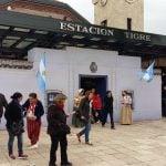 Tigre recrea la Casa de Tucumán en la Estación de la línea Mitre