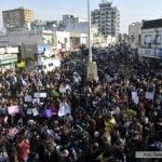"""Las presencias políticas que participaron de la """"teteada masiva"""" en San Isidro"""