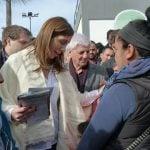 Vidal visitó un operativo de servicios junto al intendente Andreotti