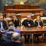 Zamora se reunió con concejales por el saneamiento del Reconquista