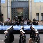 Vicente López homenajeó a San Martín con un desfile patrio