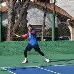 Pico Mónaco entrenó junto a la comitiva olímpica en el Campo N°1 de Vicente López