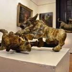 Obras del artista Lorenzo Gigli se exponen en la histórica Quinta El Ombú