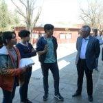 Zamora y estudiantes de Benavídez buscarán generar proyectos educativos en la ES N°21