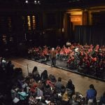 Se presentó la orquesta de Baires-Bancalari en el Centro Nacional de la Música